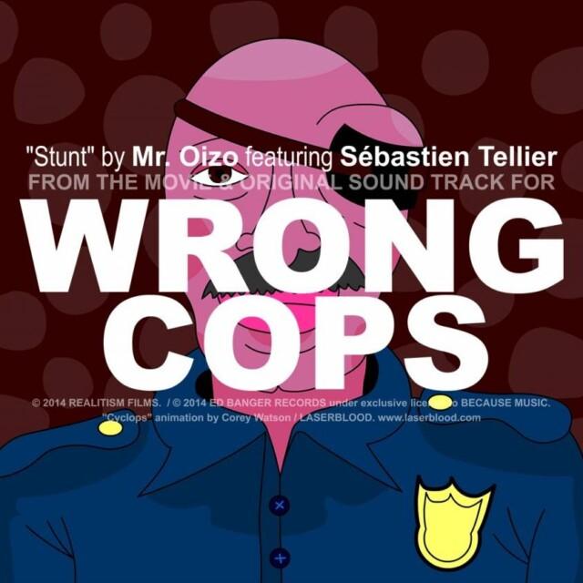 "Mr Oizo ""Stunt"" Animated Music Video"