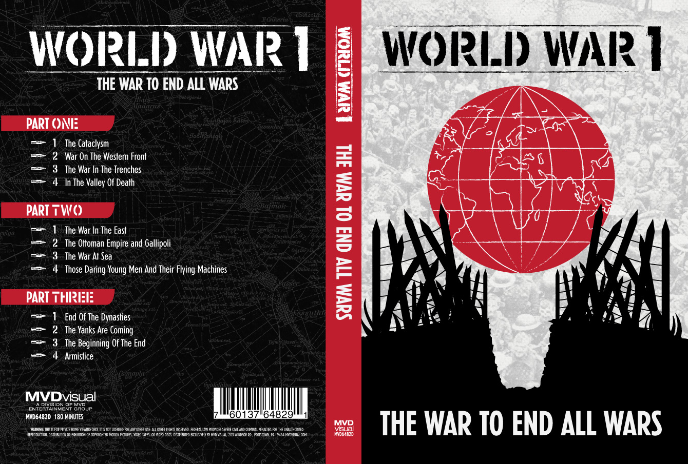 Design for World War I: The War To End All Wars